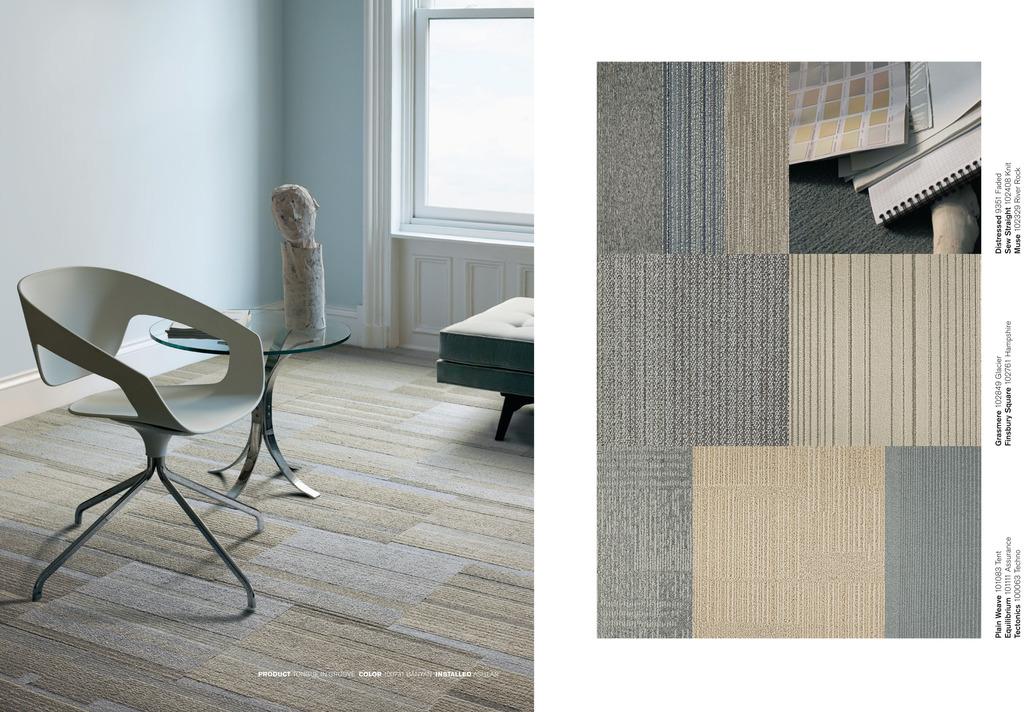 Carpetes Modulares Studio Palette Modern