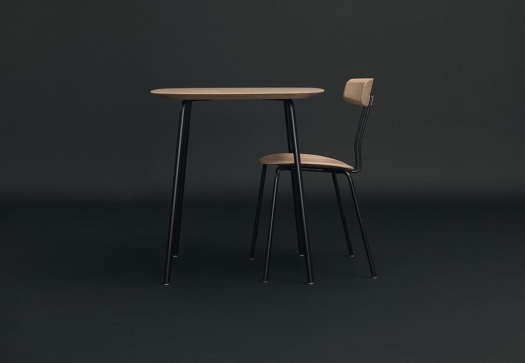 Wooden Table - Okito
