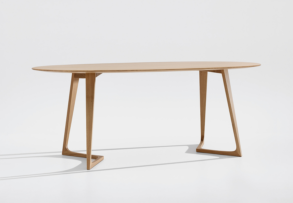 Wooden Table - Twist