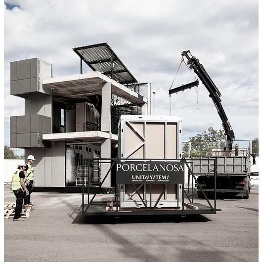 Baños modulares prefabricados - Monobath / Porcelanosa Grupo