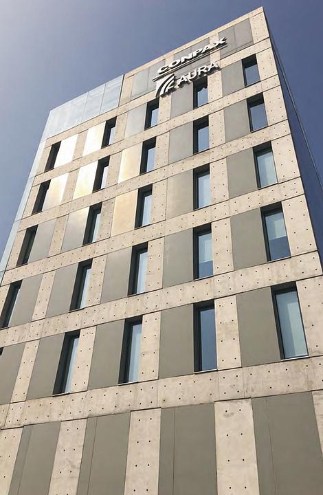 Panel de fibrocemento para fachadas ventiladas e interiores - Durafront®