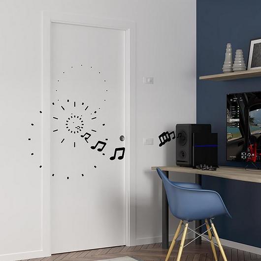 Sliding Pocket Door - ECLISSE Acoustic