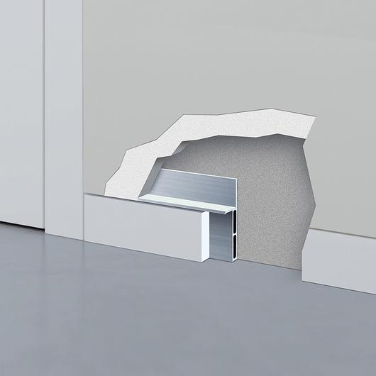 Flush Skirting - ECLISSE Shodō Baseboard