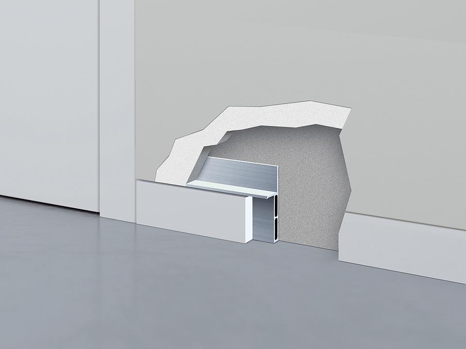 Flush Skirting - ECLISSE Shodō Baseboard