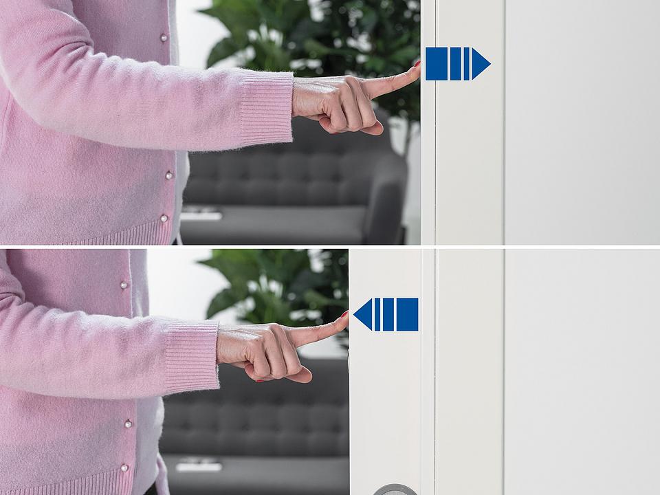 Sliding Door Opening System - ECLISSE Push&Pull