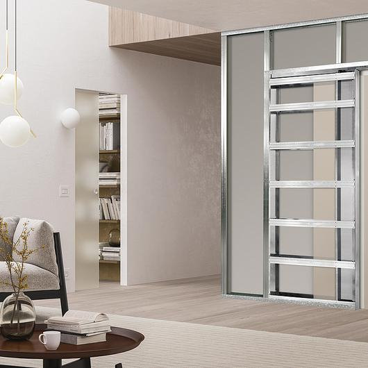Pocket Door System - ECLISSE Syntesis® Luce