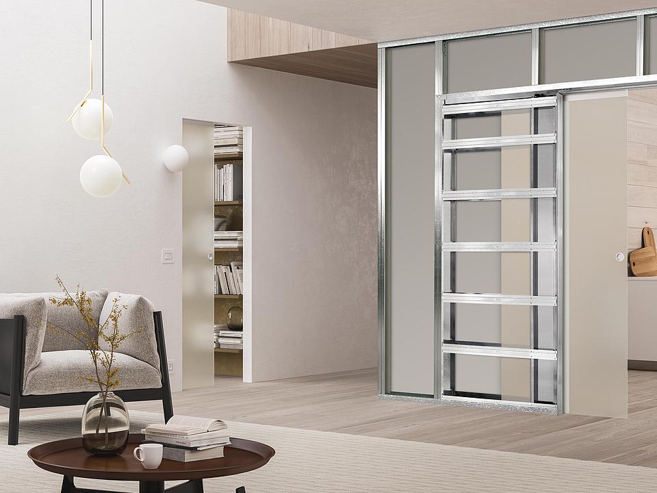 Pocket Door Frames - ECLISSE Syntesis® Luce