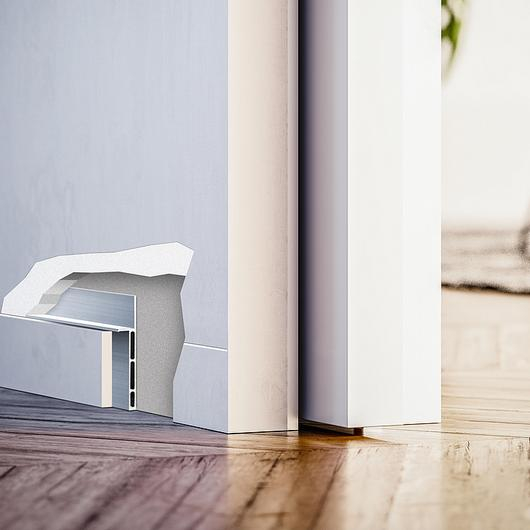 Flush Skirting - ECLISSE Syntesis® Baseboard