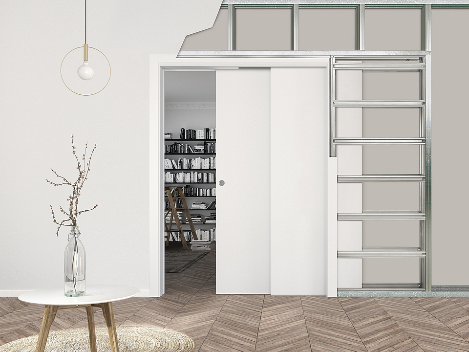 Sliding Pocket Door - ECLISSE Telescopic
