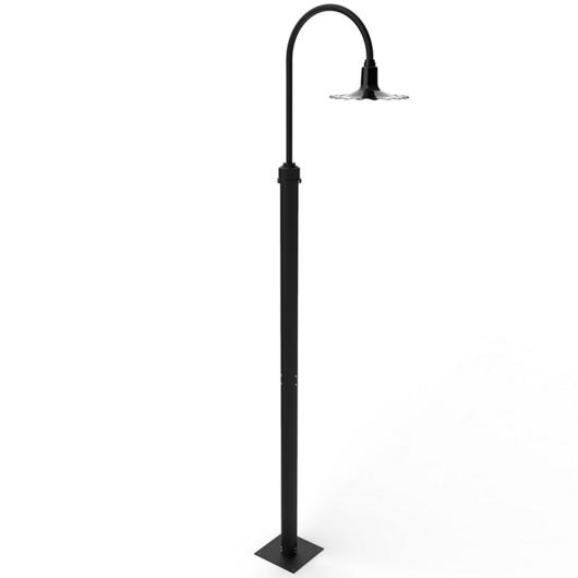 Lighting - Iris LED Post Light / Cocoweb