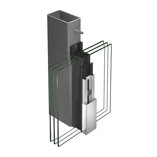 Facade Systems - VISS Basic Facade / Jansen