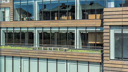 The Milstein Center, Barnard University | Image credit: Urban View Photo / Island Exterior Fabricators