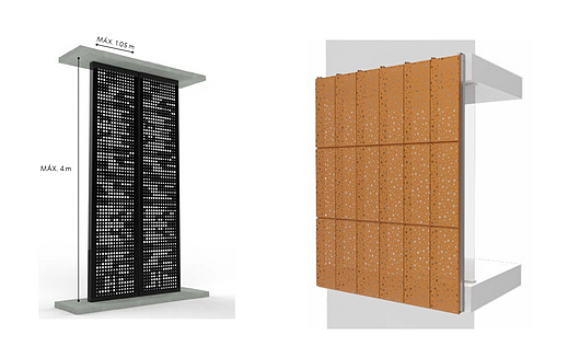 SCREENPANEL XL - Revestimiento