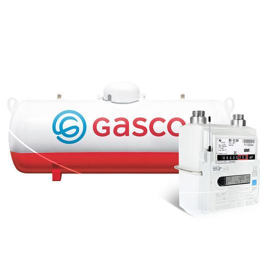 Medidor digital para gas en tanque
