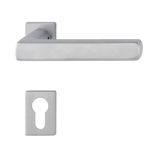 Door Handle - Dallas in Compact Rose / HOPPE