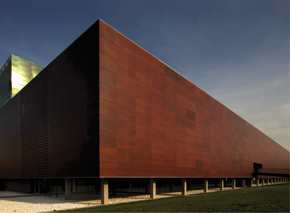 Revestimientos exteriores prodema de hunter douglas for Panneau de facade composite