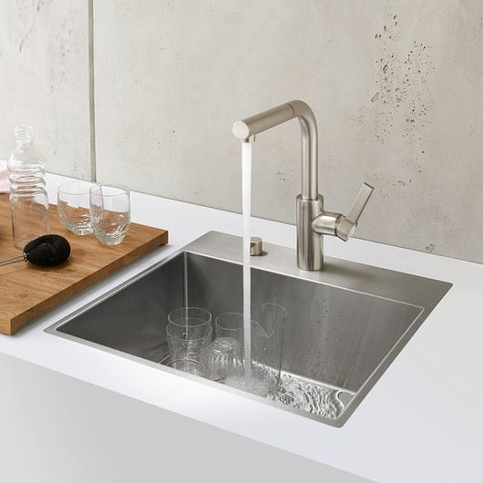 Kitchen Sinks - Brushed Stainless / Dornbracht