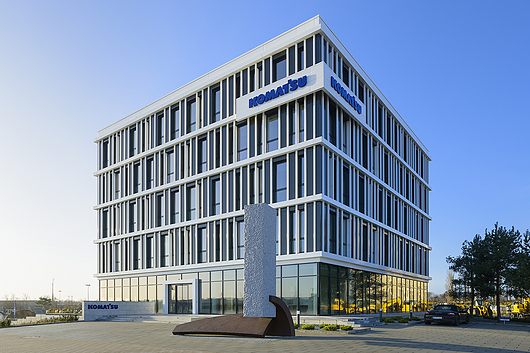 Ventilated Façades - Qbiss Screen | Komatsu Development Center