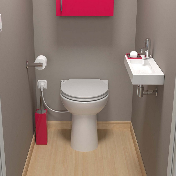 Macerating Toilet Suite - Sanicompact® 43
