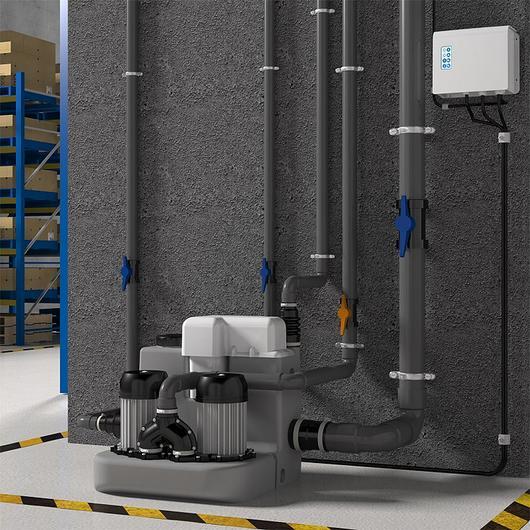 Greywater Lifting Station - Sanicom® 2