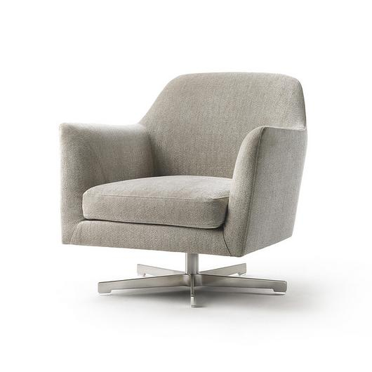 Swivelling Armchair - Luce / Flexform