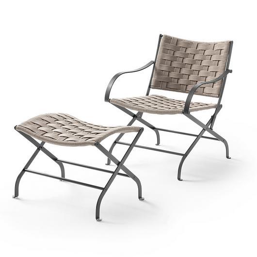Armchair With Footstool - Carlotta Outdoor / Flexform