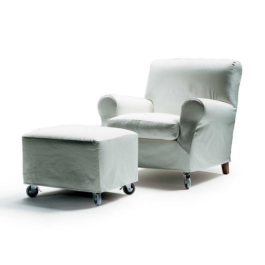 Armchair | Footstool - Nonnamaria / Flexform