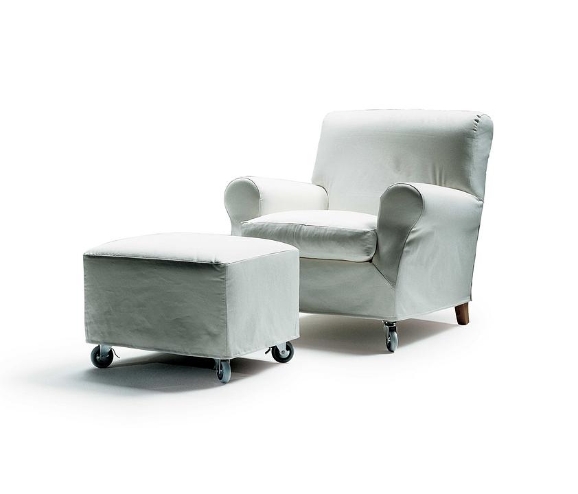Armchair | Footstool - Nonnamaria