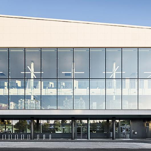 Paper Facade Panel in Nokia Library / ULMA Architectural Solutions