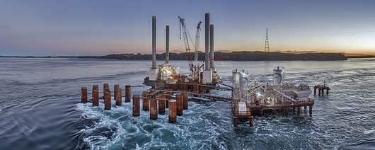 Construcción Puente Chacao