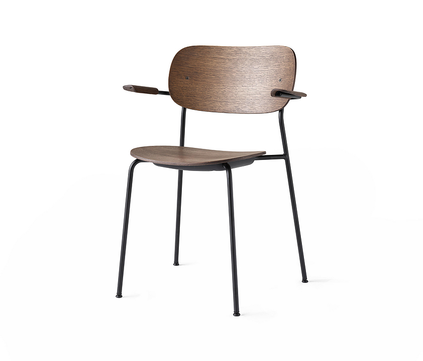 Wood Chair - Co Chair With Arms