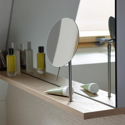 Wall Rack and Magnifying Mirror - Sys30 / burgbad