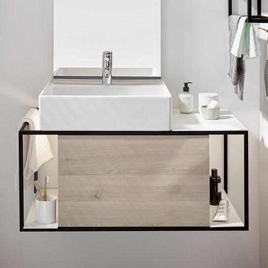 Ceramic Washbasin and Vanity - Junit / burgbad