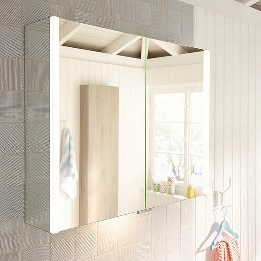 Mirror Cabinet With LED - Bel / burgbad