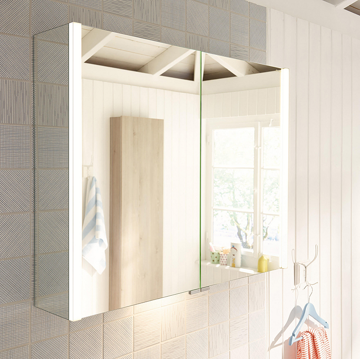Mirror Cabinet With LED - Bel