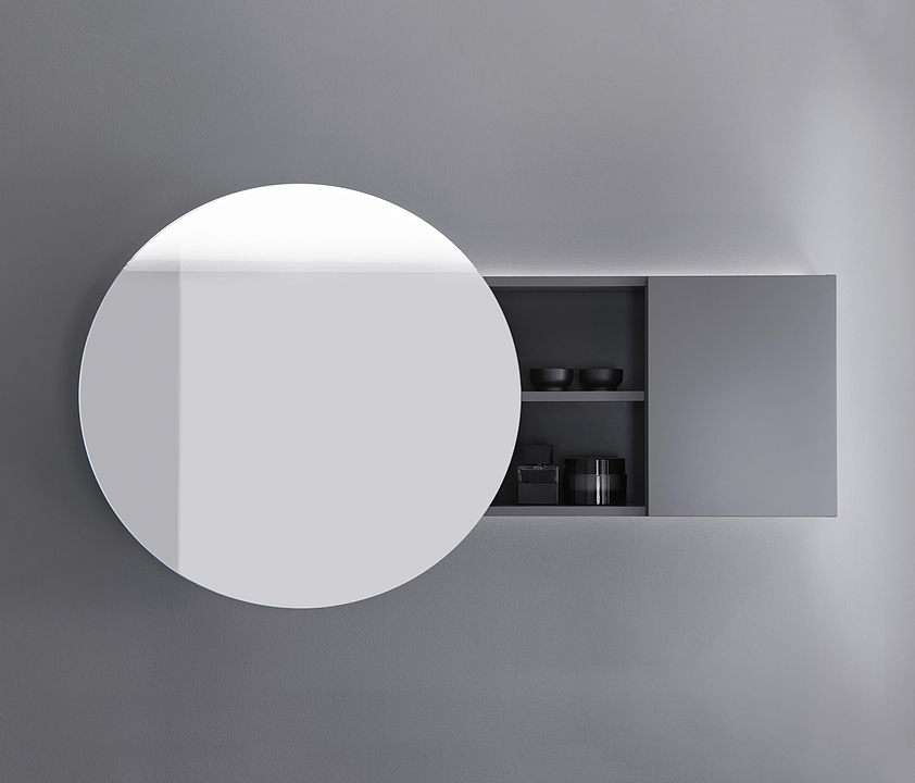 Mirror Cabinet With LED - Coco