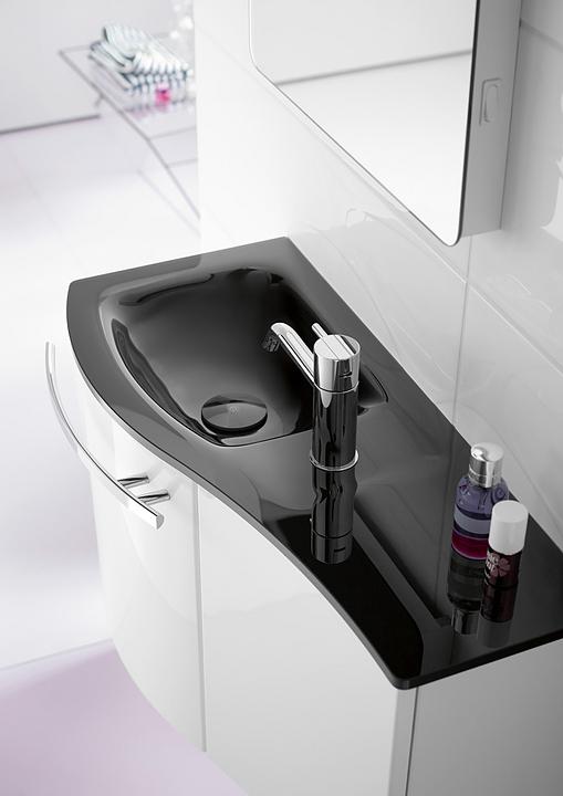 Glass Washbasin and Vanity - Sinea