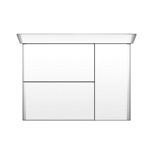 Ceramic Washbasin and Vanity - Iveo / burgbad