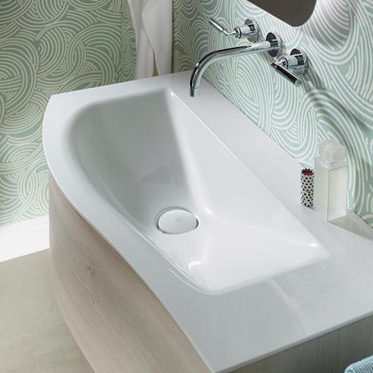 Mineral-Cast Washbasin and Vanity - Sinea 2.0 / burgbad