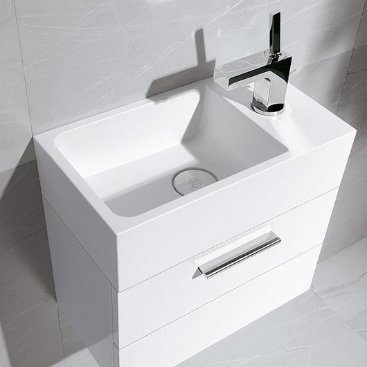 Mineral-Cast Washbasin and Vanity - Crono / burgbad