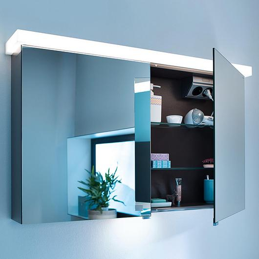 Mirror Cabinet With LED - Essento / burgbad