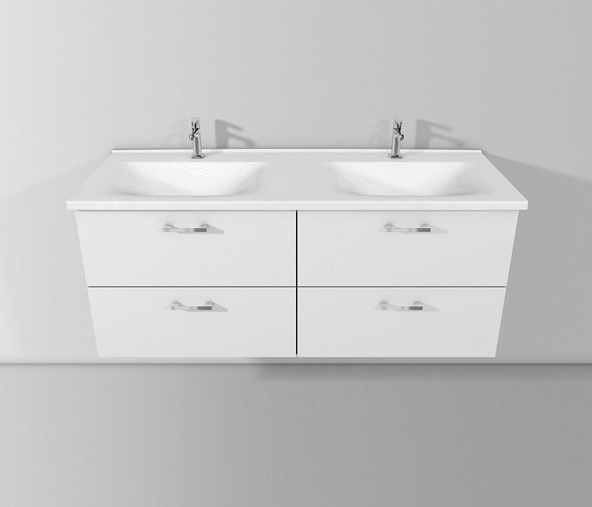 Ceramic Washbasin and Vanity - Sys30