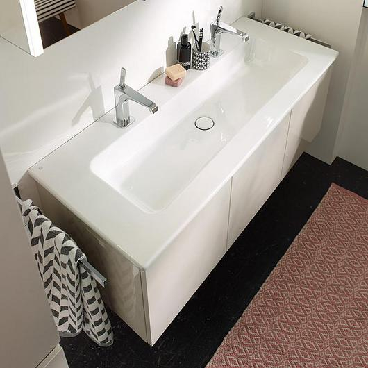 Ceramic Washbasin and Vanity - Bel