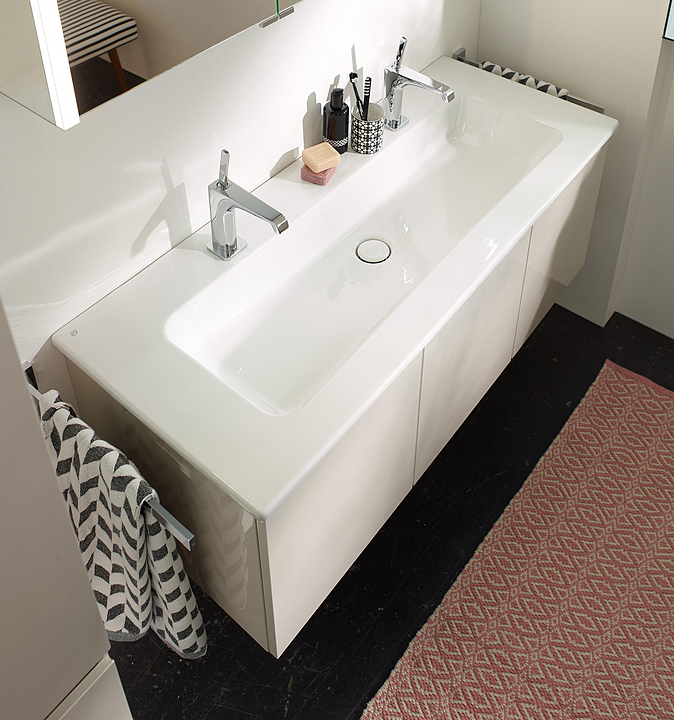 Ceramic Washbasin and Vanity - Bel