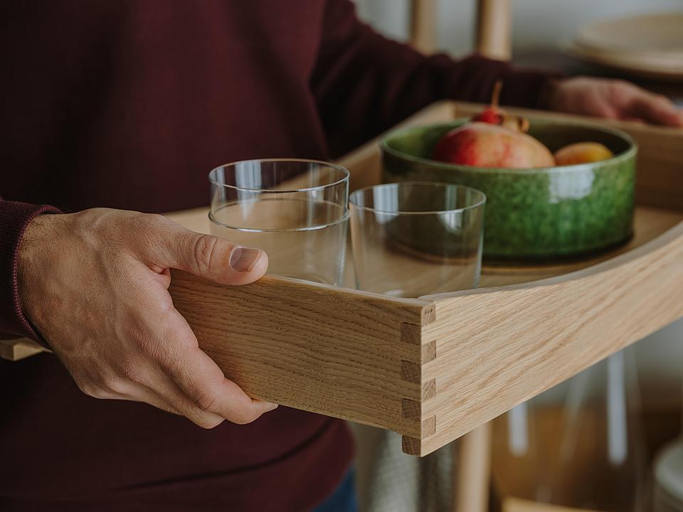 Wooden Tray - Mya