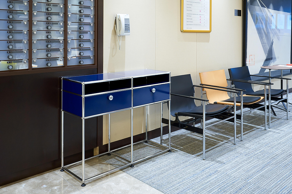 Side Table and Drawers - Haller
