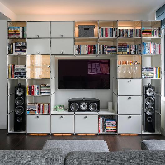Multimedia Cabinet - Haller E / USM
