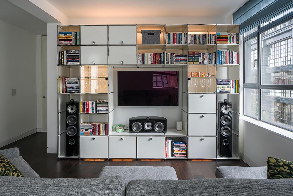Multimedia Cabinet - Haller E