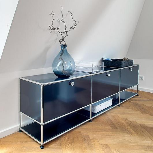 Sideboard and Open Shelves - Haller / USM