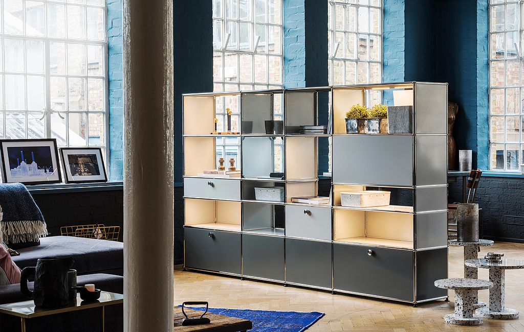 Drawers and Open Shelves - Haller E